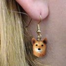 Finnish Spitz Earrings Hanging