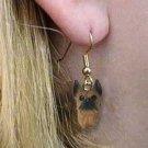 Boxer Tawny Earrings Hanging