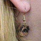 Shar Pei Cream Earring Hanging