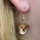 Border Terrier Earrings Hanging