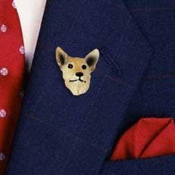 Australian Cattle Dog Red Pin