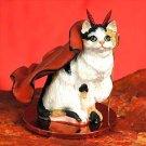Shorthair Calico Devil