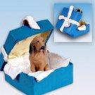 BGBD69 Bloodhound Blue Gift Box Ornament