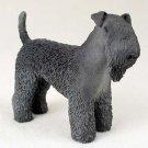 DF114 Kerry Blue Terrier Standard Figurine