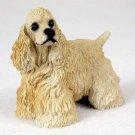 DF15C Cocker Spaniel, Blonde Standard Figurine
