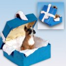 BGBD33A Boxer Blue Gift Box Ornament