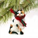 CTX05 Shorthair Calico Christmas Ornament