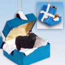BGBA50 Sheep, Black Blue Gift Box Ornament
