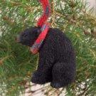 ATX02 Black Bear  Christmas Ornament