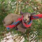 ATX34 Elk, Cow Christmas Ornament