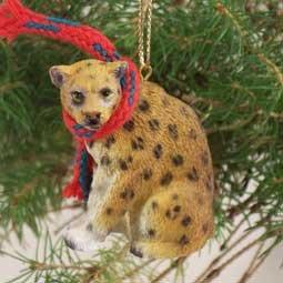 ATX07 Leopard Christmas Ornament