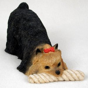 DFL04 Yorkshire Terrier My Dog Figurine