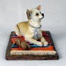 DFL06B Chihuahua White & Tan My Dog Figurine
