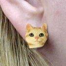 CHE23 Manx Red Tabby Ears Hang