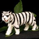 AFF11B White Tiger Fur Figurine