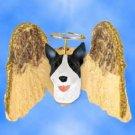 DHAM07B Bull Terrier, Brindle Angel Magnet