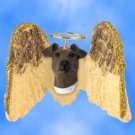 DHAM50A Fox Terrier, Brown & White Angel Magnet