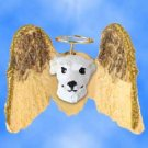DHAM92A Whippet, White Angel Magnet