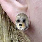 DHE120 Dandie Dinmont Terrier Earring Post