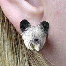DHE45 Skye Terrier Earrings Post