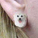 DHE77 Kuvasz Earrings Post