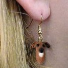 DHEH111 Italian Greyhound Earring Hanging