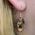 DHEH16B Great Dane Fawn Earrings Hanging