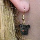 DHEH48 Staffordshire Bull Terrier Earring Hanging
