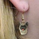 DHEH55A Akita Gray Earrings Hanging