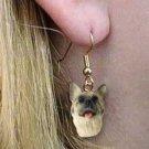 DHEH55B Akita Fawn Earrings Hanging