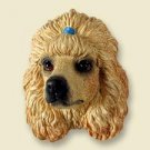 DHF01C Poodle Apricot Doogie Head