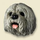 DHF10A Lhasa Apso Gray Doogie Head