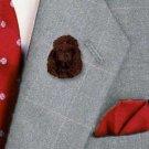 DHP01E Poodle Choc Pin