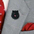 DHP03B Pomeranian Black Pin