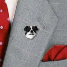 DHP105B Jack Russell Smooth coat Black & White Pin