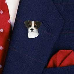 DHP63A Jack Russell Terrier Pin