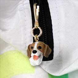 DHZ14 Beagle Zipper Charm