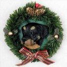 DPX11 Rottweiler Wreath Ornament