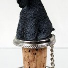 DTB114 Kerry Blue Terrier Bottle Stopper
