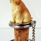 DTB121C English Cocker Spaniel, Blonde Bottle Stopper