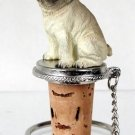 DTB18A Pug, Fawn Bottle Stopper