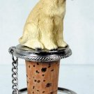 DTB24B Labrador Retriever, Yellow Bottle Stopper