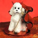 DTD104A Poodle, White, Sport cut Devil
