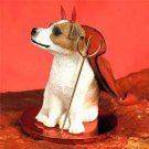 DTD105A Jack Russell Terrier, Brown & White, Smooth Coat Devil