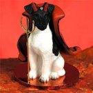 DTD50B Fox Terrier, Black & White Devil
