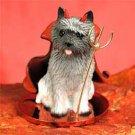 DTD53A Cairn Terrier, Gray Devil
