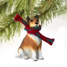 DTX118 Collie, Smooth Hair Christmas Ornament