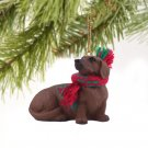DTX19A Dachshund, Red Christmas Ornament