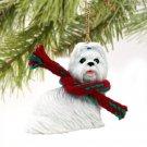 DTX26E Shih Tzu, White Christmas Ornament