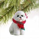 DTX29 Bichon Frise Christmas Ornament